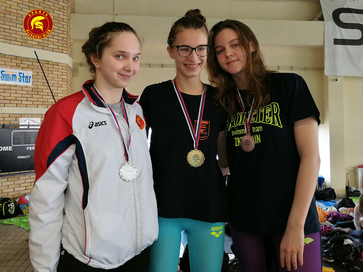 Anja Jakimovski - Zimsko otvoreno prvenstvo Vojvodine 2019