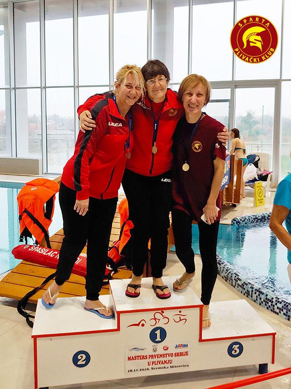 Ilona, Gordana i Magda - Masters 2018