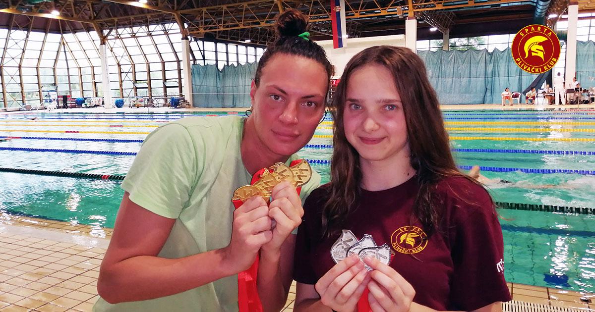 Jovana Bogdanović i Anja Jakimovski - Letnje otvoreno prvenstvo Vojvodine 2019