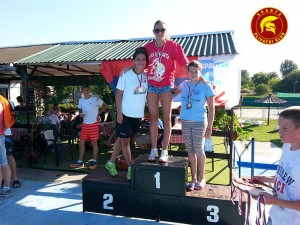 Jovana Bogdanović - Otvoreno prvenstvo Vojvodine 2014 - 100m prsno - I mesto