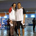 Jovana Bogdanović i Čaba Silađi - najbolji takmičari na mitingu