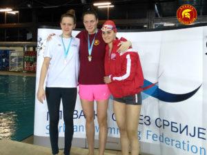 Jovana Bogdanović - Zimkso OPS 2017. - 200 m prsno - prvo mesto