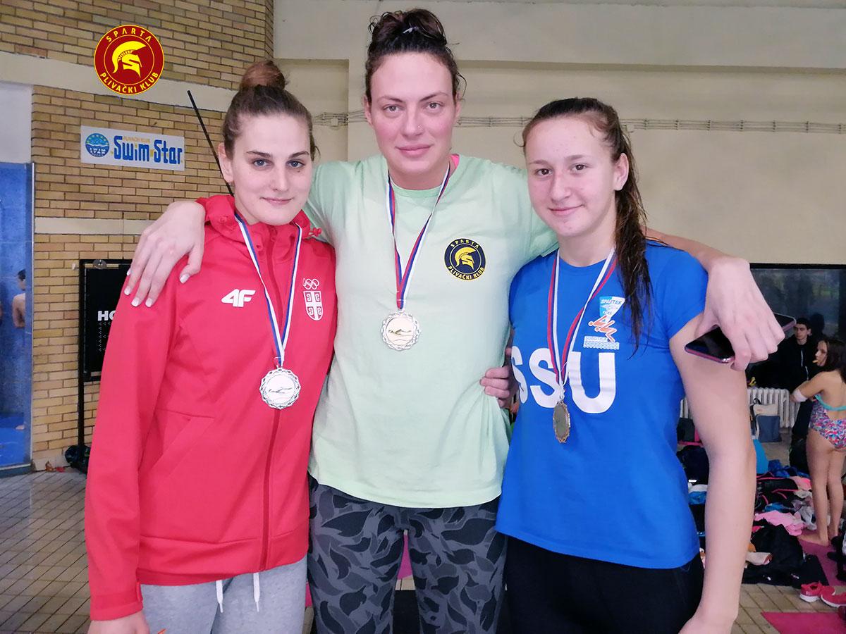 Jovana Bogdanović - Zimsko otvoreno prvenstvo Vojvodine 2019