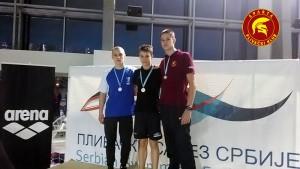 Miloš Mihajlović - treće mesto na 200 kraul - Srbija Open 2016.