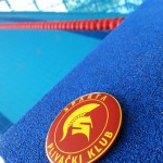 PK Sparta bedž na startnom bloku bazena SRC Milan Gale Muškatirović
