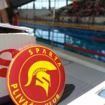 PK Sparta bedž pored bazena SRC Milan Gale Muškatirović