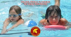 Škola plivanja - PK Sparta