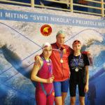 Jovana Bogdanović - Međunarodni plivački miting Sveti Nikola 2019