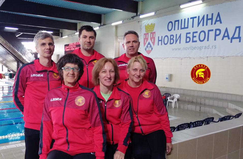 Masters 11. April 2019. - plivači PK Sparta