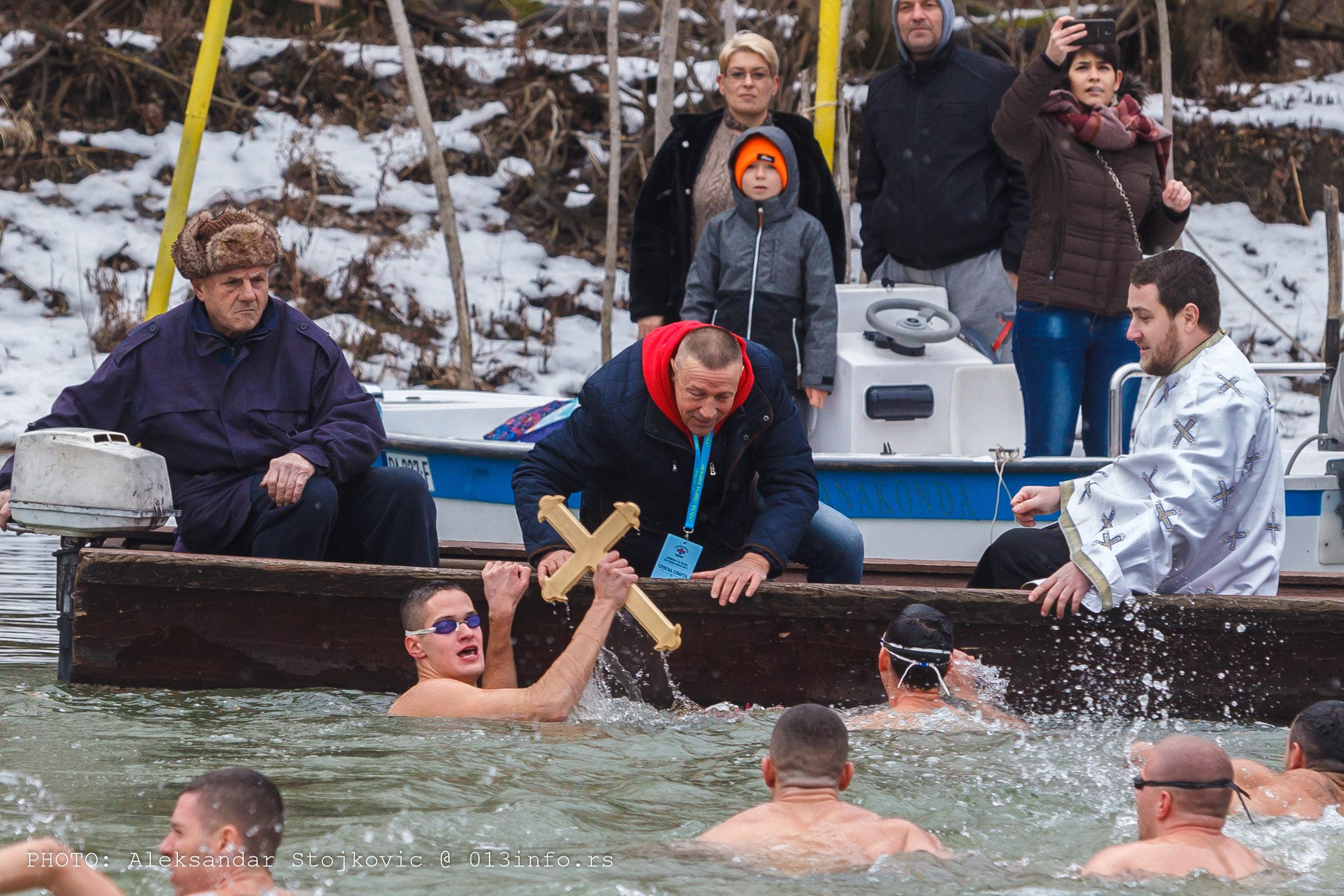 Miloš Mihajlović prvi do časnog krsta u Pančevu