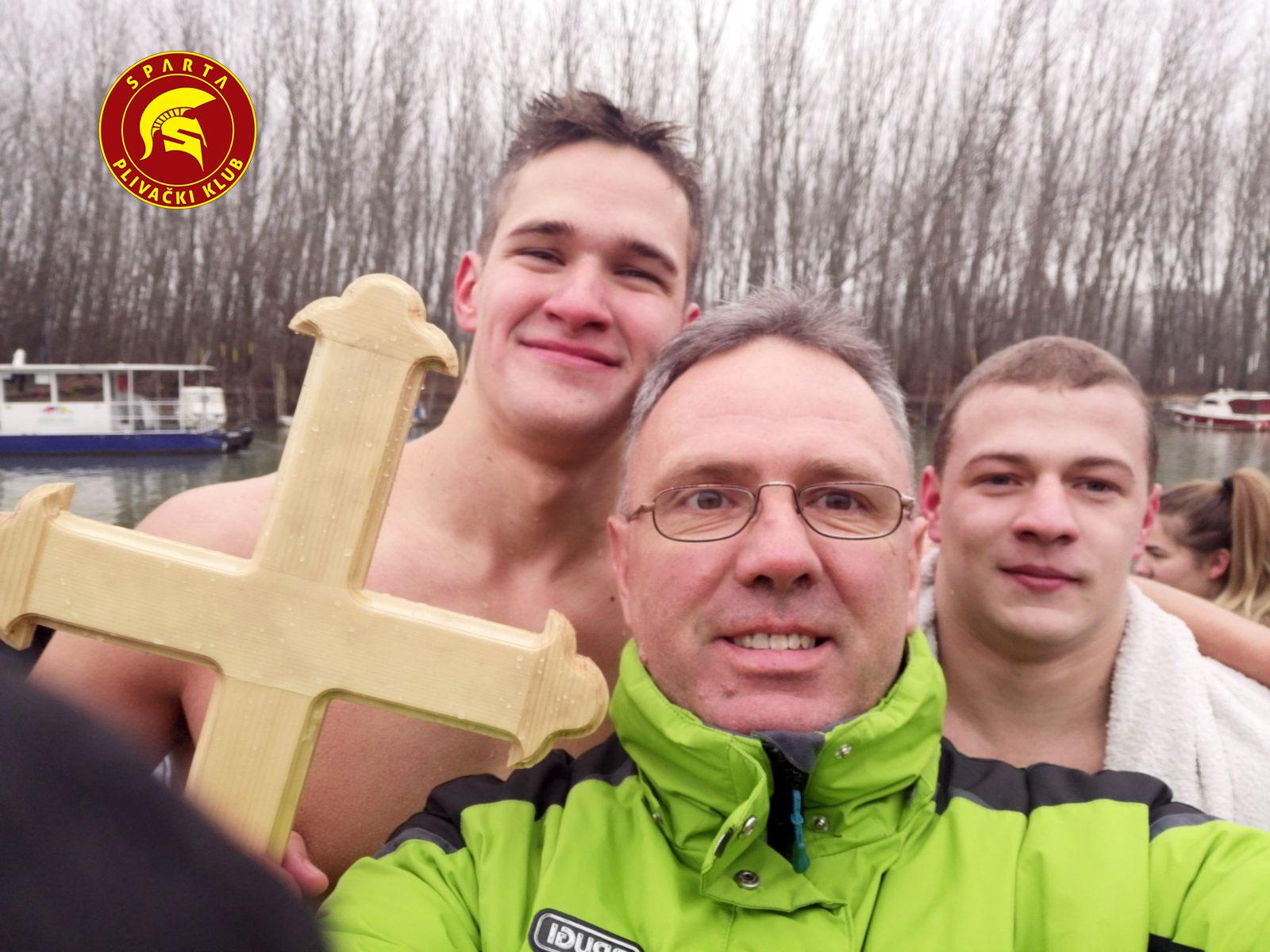 Miloš Mihajlović sa trenerom PK Sparta Nenadom Jovićem