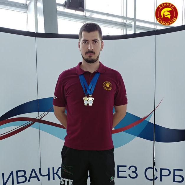 Miloš Spasić - Masters prvenstvo Srbije leto 2017.