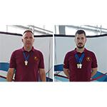 Nenad Јović i Miloš Spasić - Masters prvenstvo Srbije leto 2017.
