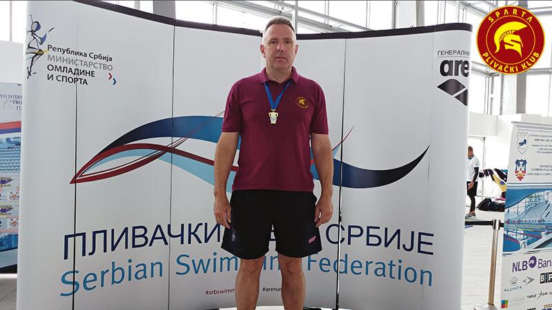 Nenad Jović - Masters prvenstvo Srbije leto 2017.