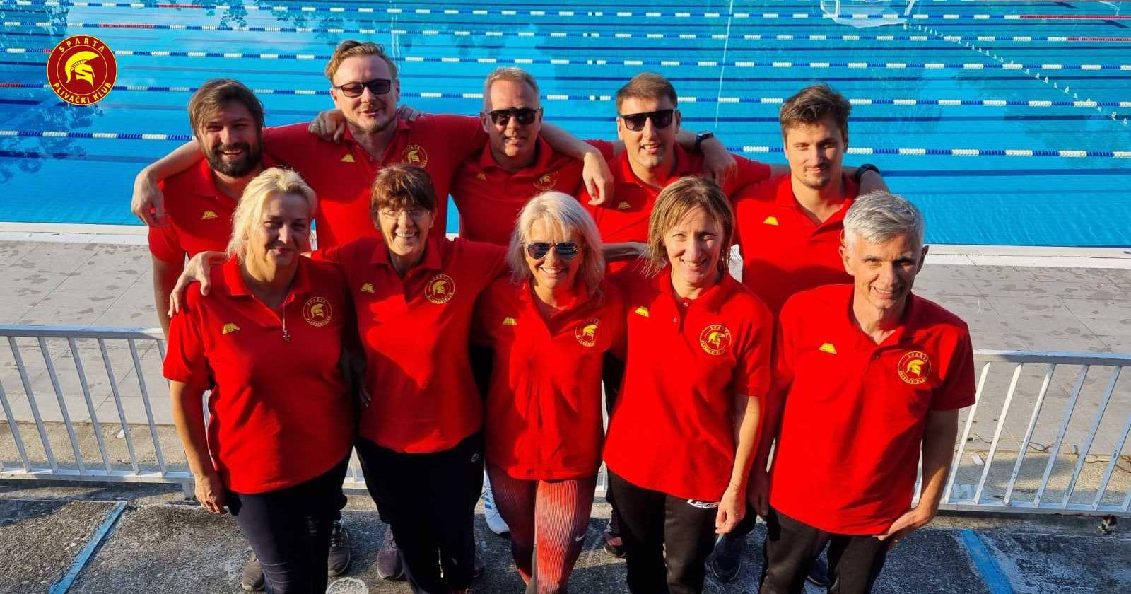PK Sparta - ekipa - Masters prvenstvo Srbije - leto 2021.