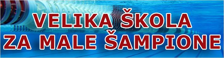 Velika škola plivanja za male šampione
